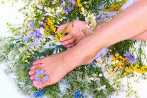 Ванночки для ног с лекарственными травами