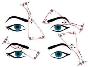 Как сделать коррекцию бровей нитью