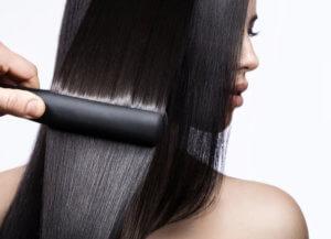 как делают нанопластику волос?