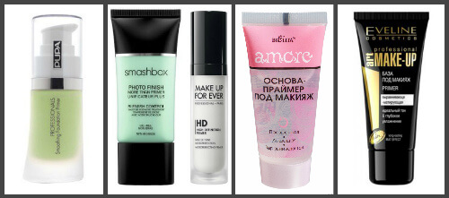 базы, основы для макияжа